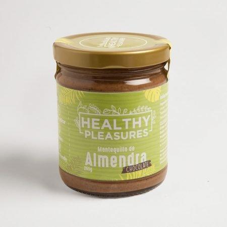 mantequilla de almendras con chocolate