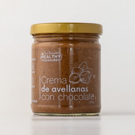 Crema de avellanas con chocolate