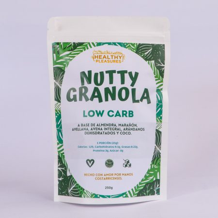 Nutty Granola Low Carb